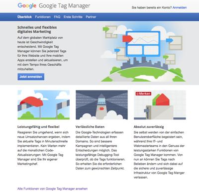 Google Tag Manager –Seminar in Köln